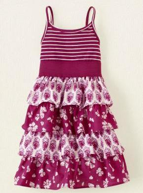 Sweet summer dresses for little girls