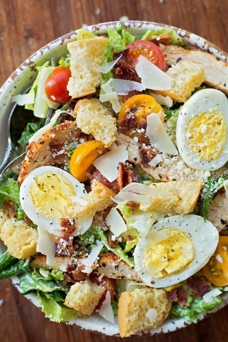 50 Easy Summer Salads: Ultimate Chicken Caesar Salad | Summer Eats