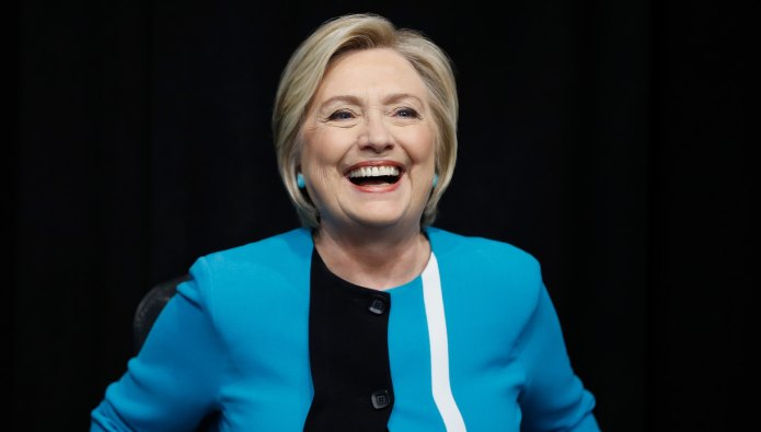 Hillary Clinton Gets the Inspiring Thanks