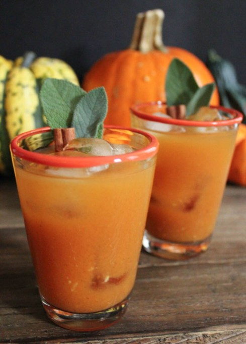 17 Pumpkin cocktails: Spiced pumpkin punch