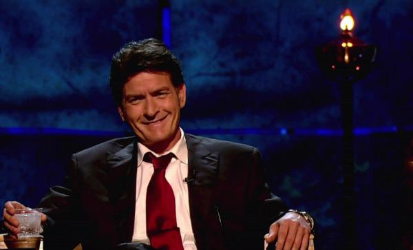 Did the Ghost-of-Get-Your-S***-Together visit Charlie Sheen?