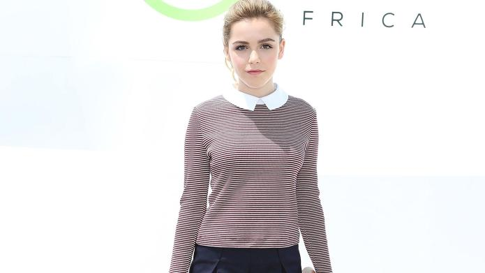 Kiernan Shipka's nautical outfit proves her
