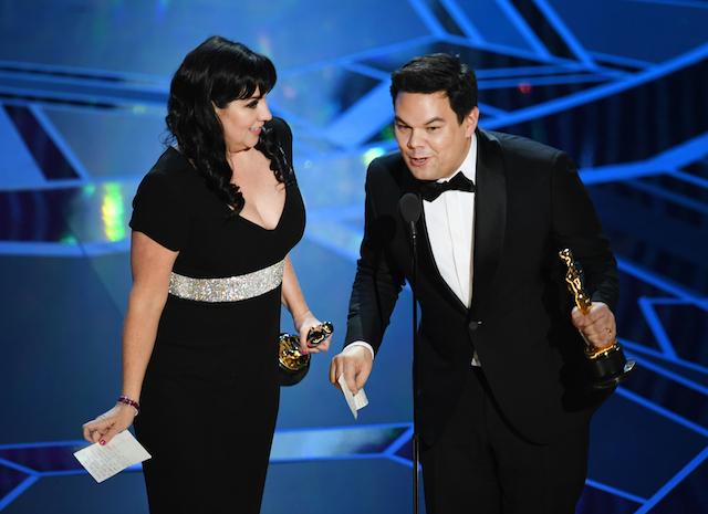 Powerful Oscar speeches 2018: Kristen Anderson-Lopez & Robert Lopez