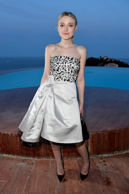 Dakota Fanning at the Dior Croisiere Photocall