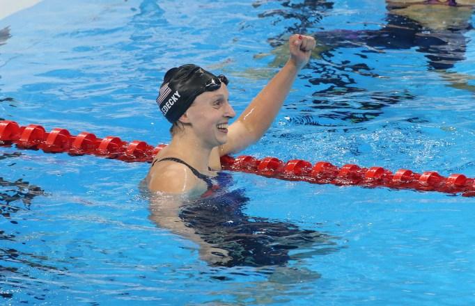 Kaite Ledecky Olympics 2016