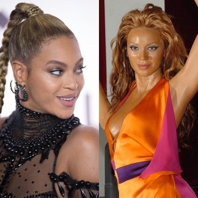 Beyoncé Madam Tussaund wax figure