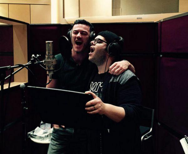 Luke Evans and Josh Gad