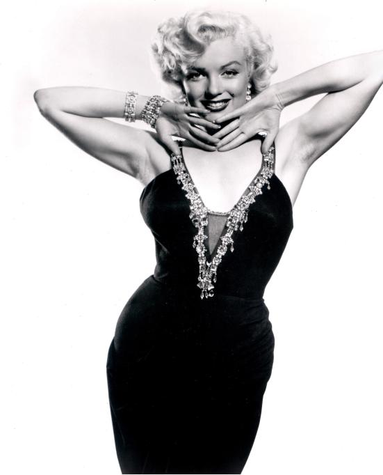 Marilyn Monroe portrait in the 1950s