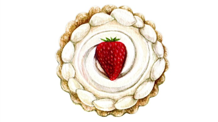 Strawberry tarts fit for a starving