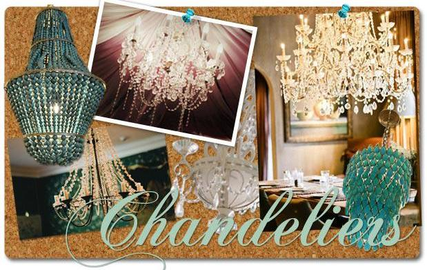 The Inspiration Board: Chandeliers