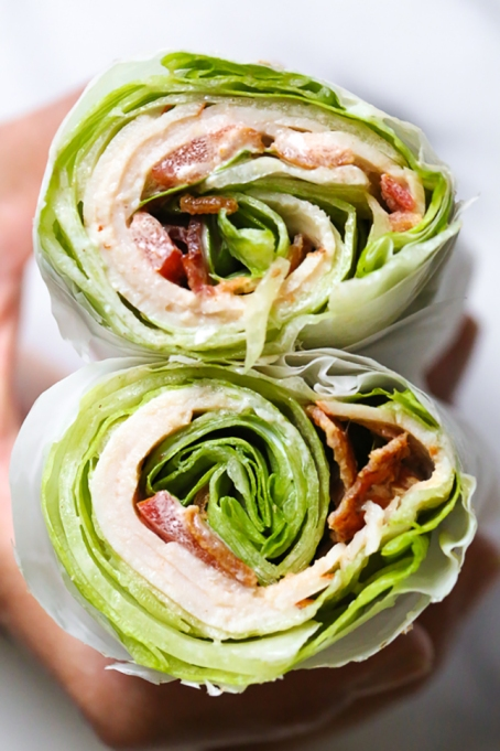 Lettuce Wraps, not Flat Bread
