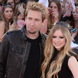Avril Lavigne and Chad Kroeger to