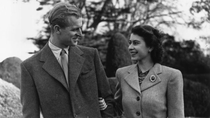 24th November 1947: Princess Elizabeth and