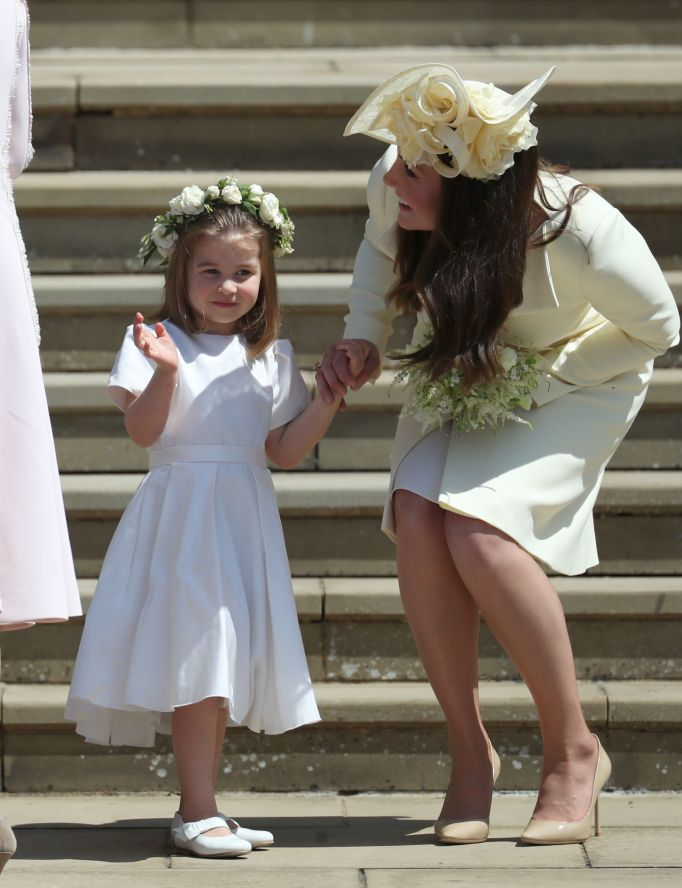 Kate Middleton & Princess Charlotte royal wedding