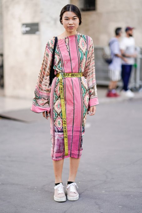 Ways To Wear Graphic Prints: The Printed Tunic   Fall Fashion