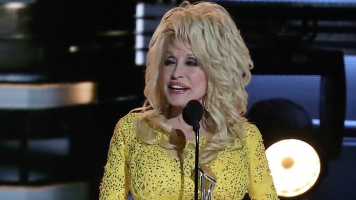 Dolly Parton won a Lifetime Achievement