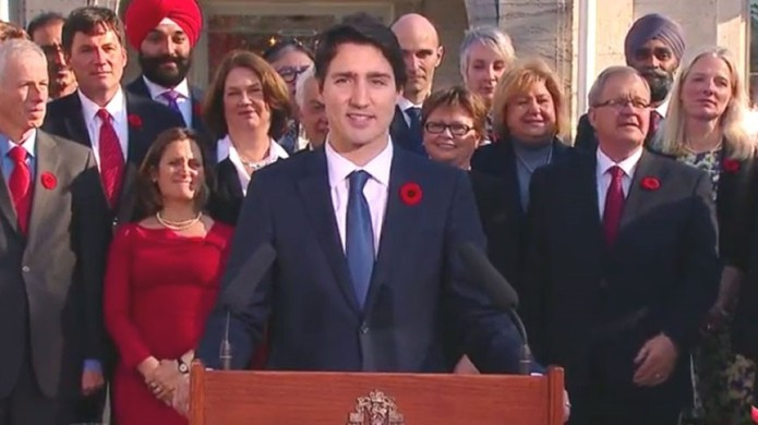 Justin Trudeau's response to the question