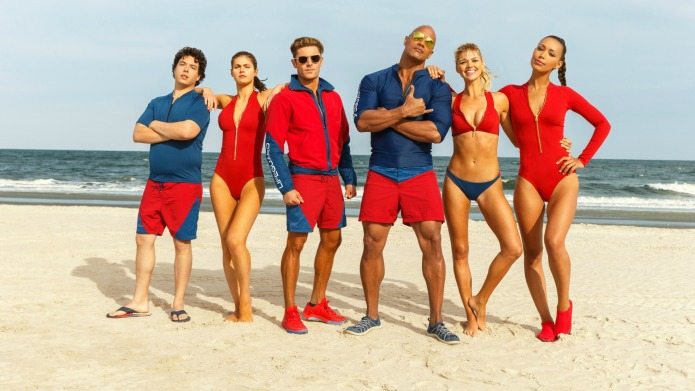 The 'Baywatch' movie: The original cast