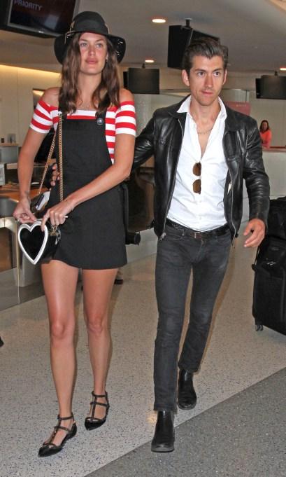 Alex Turner dating Taylor Bagley