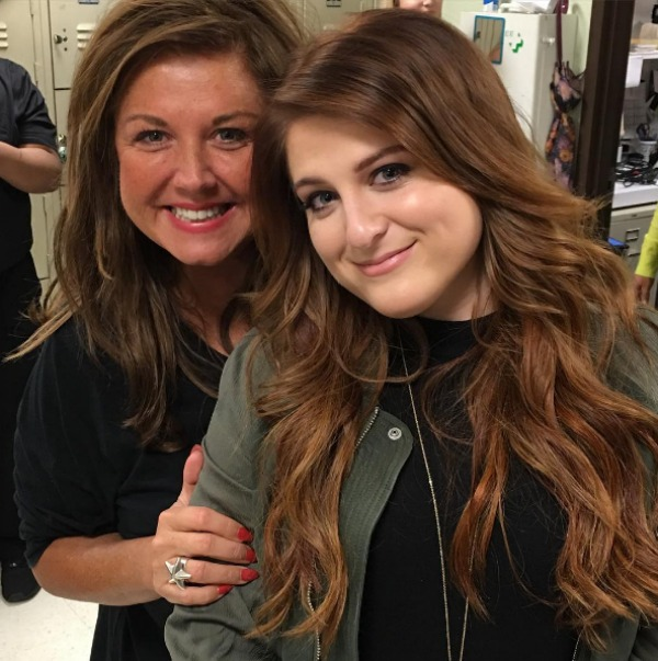 Abby Lee Miller and Meghan Trainor