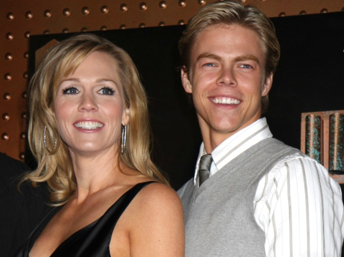 Jennie Garth and Derek Hough