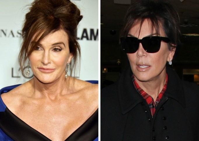 Kris Jenner Caitlyn Jenner feud