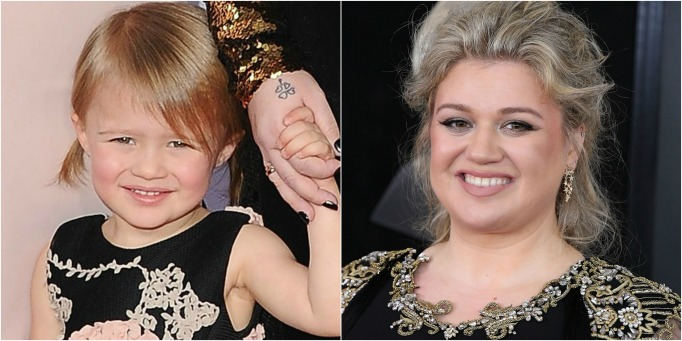 Celeb Lookalike Kids River Rose Kelly Clarkson
