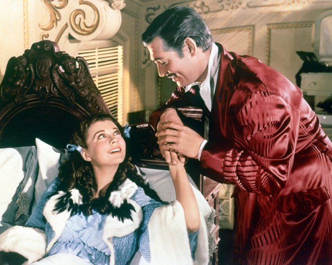Clark Gable Vivian Leigh Gone With the Wind