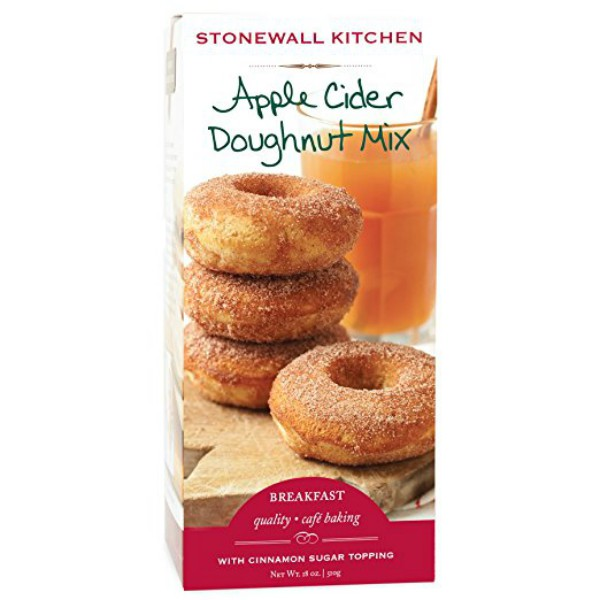 Fall Foods Amazon Will Deliver Right to Your Door: apple cider doughnut mix