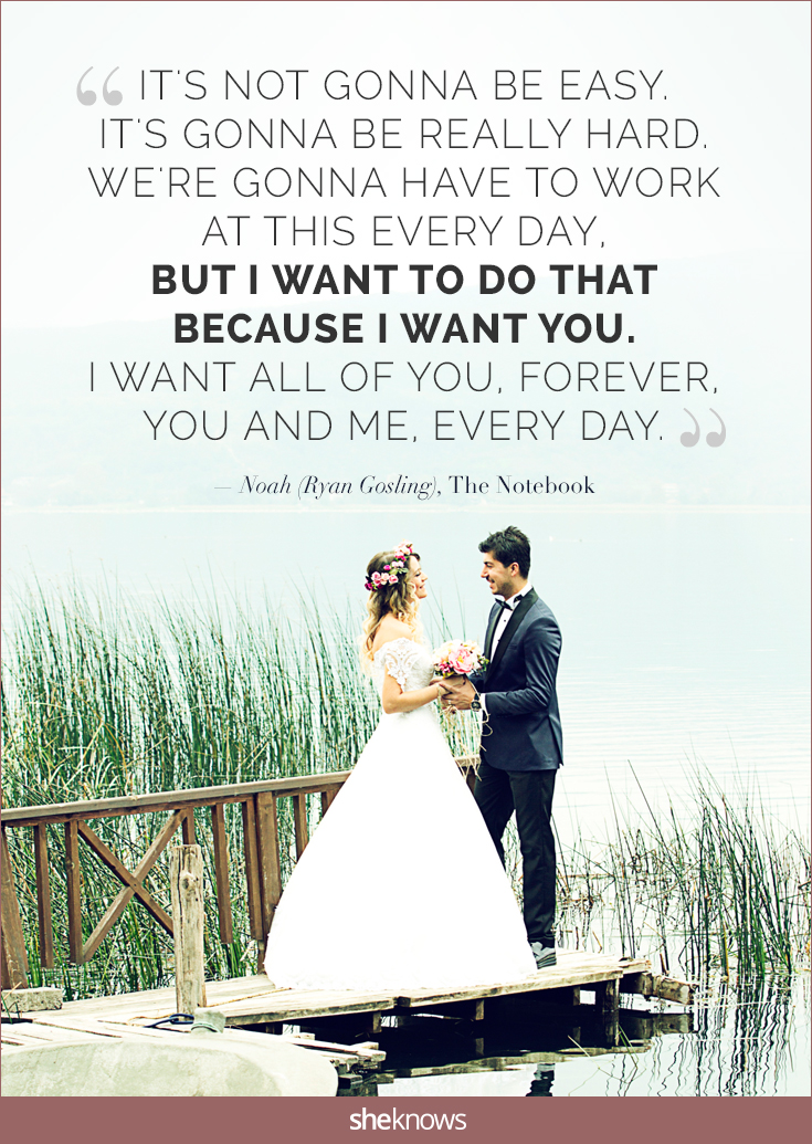 15 Love Quotes For Romantic But Not Cheesy Wedding Vows Sheknows