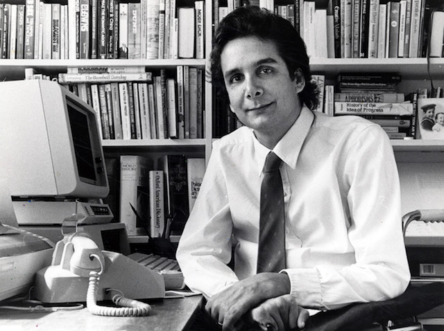 Charles Krauthammer, columnist for The Washington Post in 1985