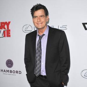 Charlie Sheen is living with a