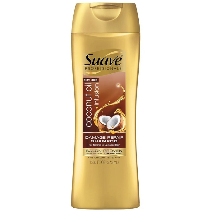 Best Coconut-Oil Beauty Products to Try Today: Suave Coconut Oil Infusion Shampoo | Summer body care 2017