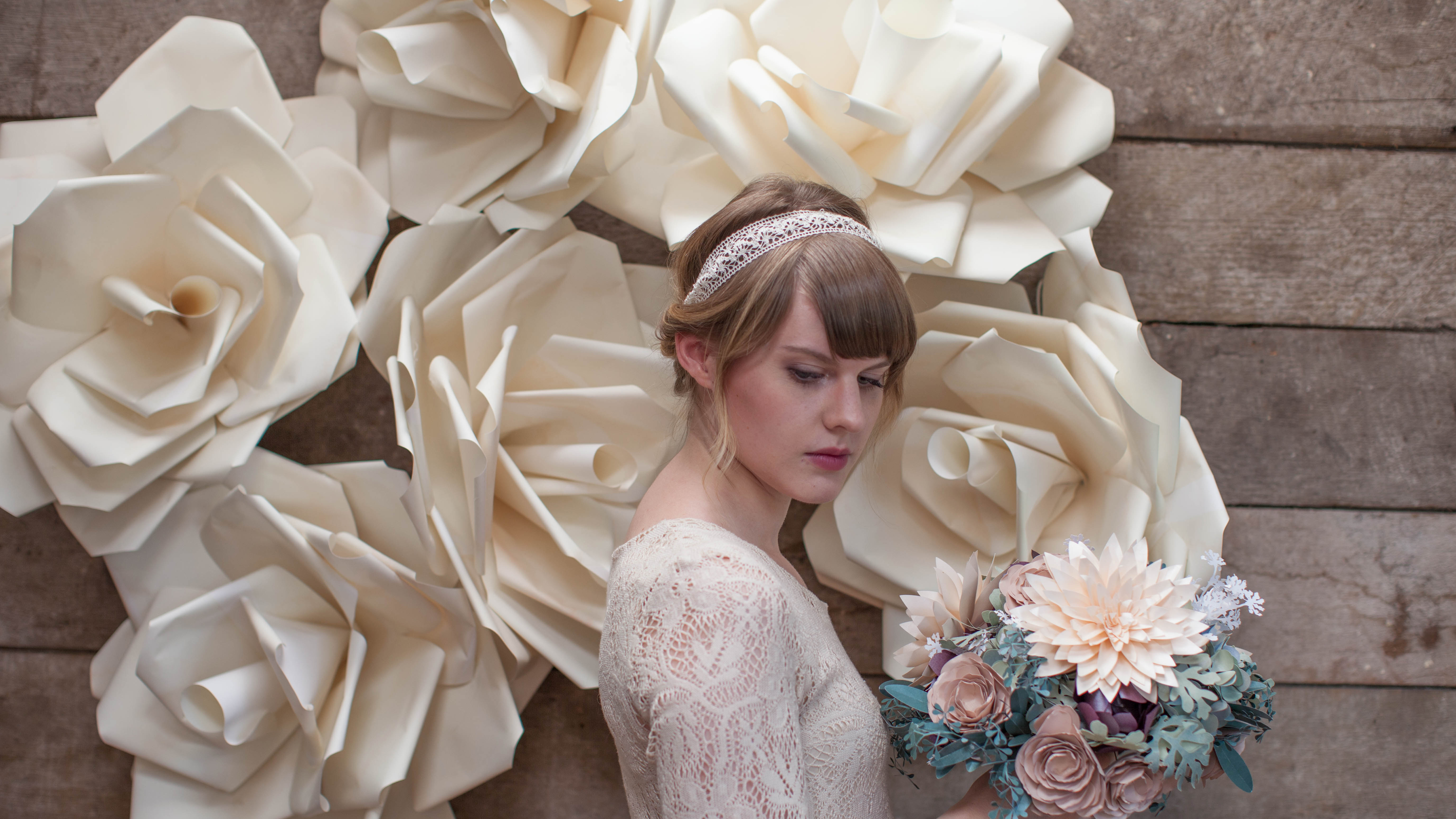 6 Gorgeous Ways To Use Diy Paper Flowers For Your Wedding Sheknows