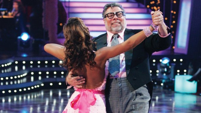 Steve Wozniak and Karina Smirnoff