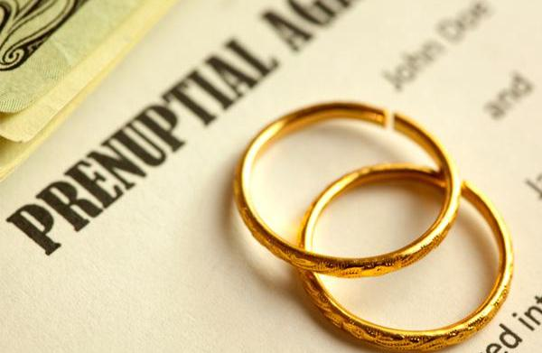 When to draw up a prenup