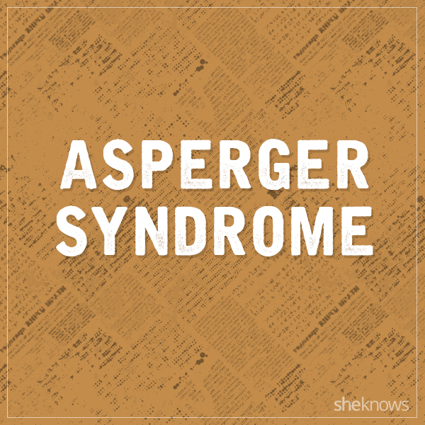Asperger's syndrome graphic
