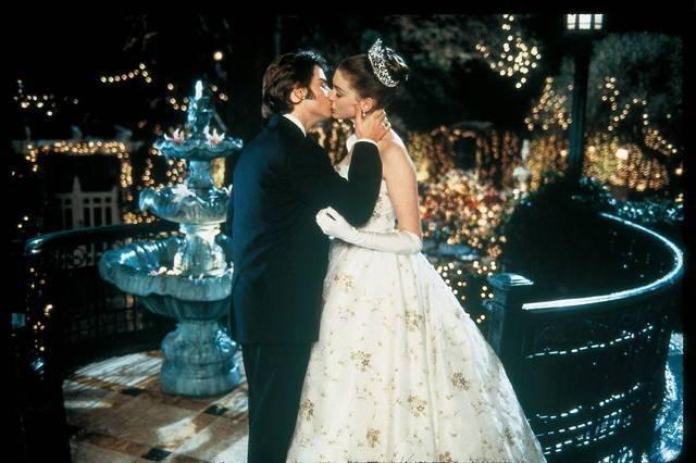 movie kisses The Princess Diaries