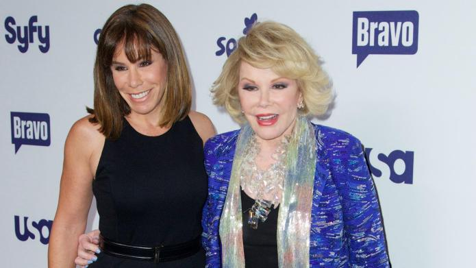 Melissa Rivers speaks out about Joan