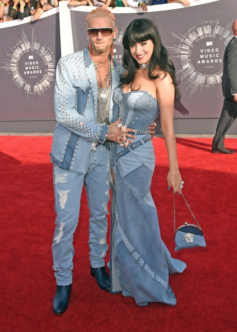 Riff Raff and Katy Perry at 2014 MTV Video Music Awards