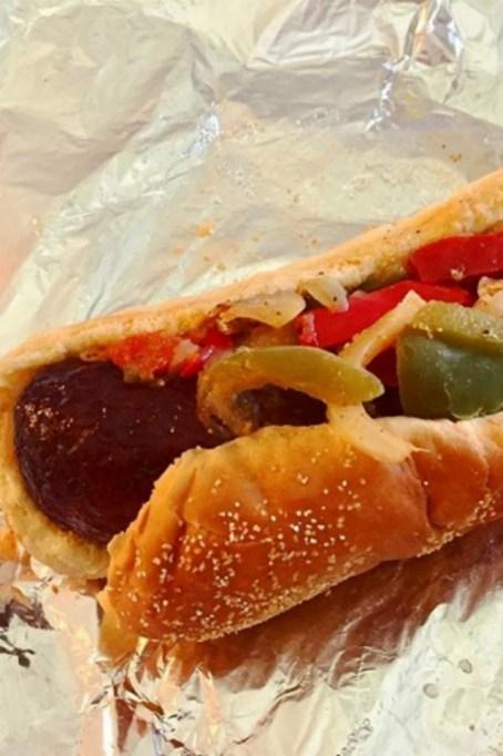 Costco Food Court: Italian Sausage Sandwich