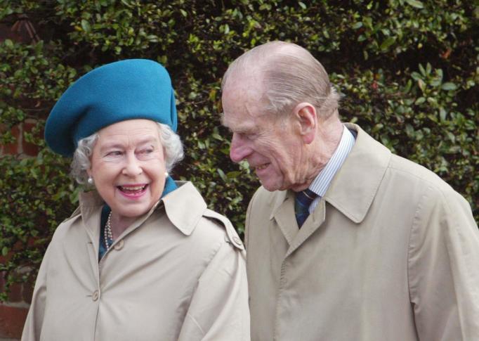 Queen Elizabeth II & Prince Philip in 2003