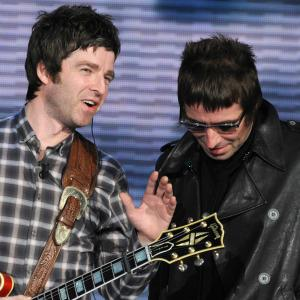 Brothers Liam and Noel Gallagher's feud