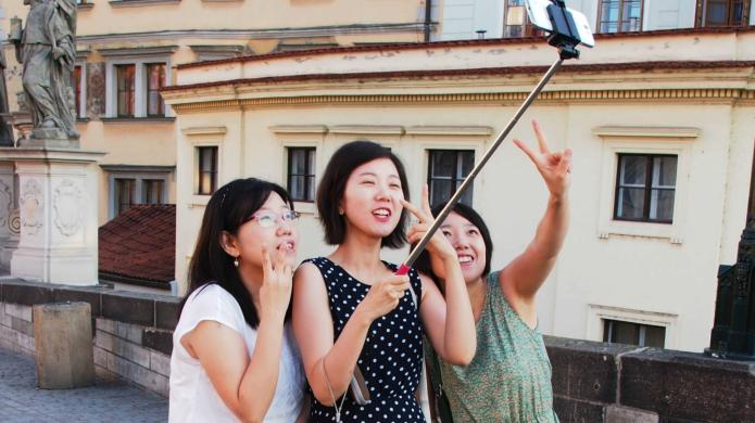 The selfie stick ban has gone