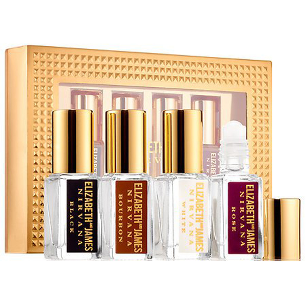 Beauty Products That Will Sell Out Fast This Holiday Season | Elizabeth And James Find Your Nirvana Rollerball Set
