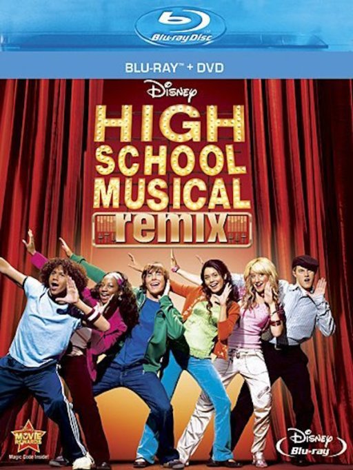 'High School Musical' DVD art