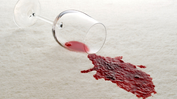 How to remove wine stains like