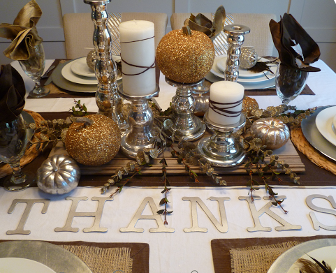 Steal the look: Thanksgiving table edition