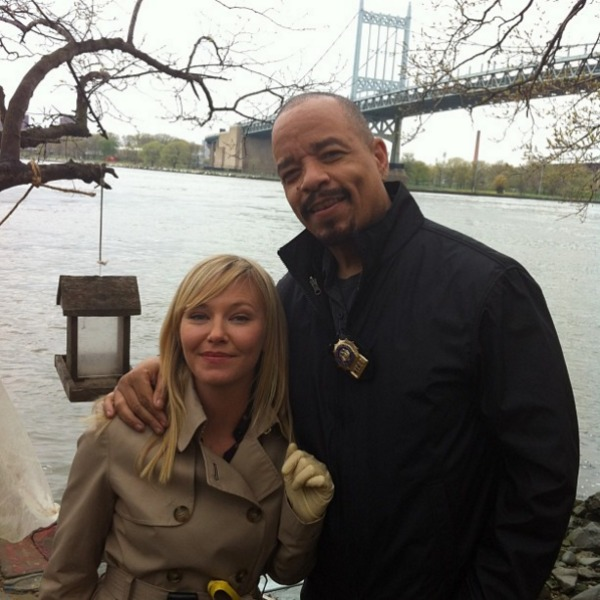Ice T and Kelli Giddish at Hell Gate