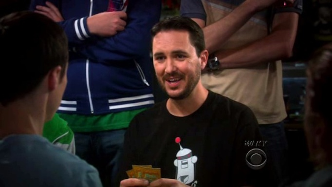 Wil Wheaton on The Big Bang Theory